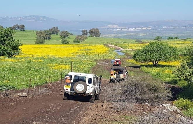Explore the Golan Heights on a jeep tour that will combine natural beauty with insights into one of Israel's most strategically important areas.