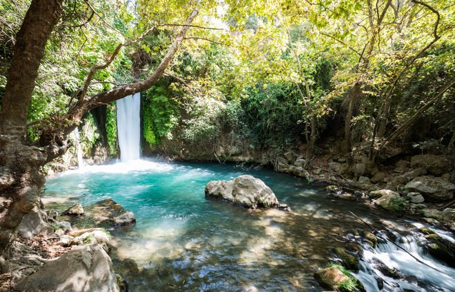 Banias Nature Reserve in Northern Israel