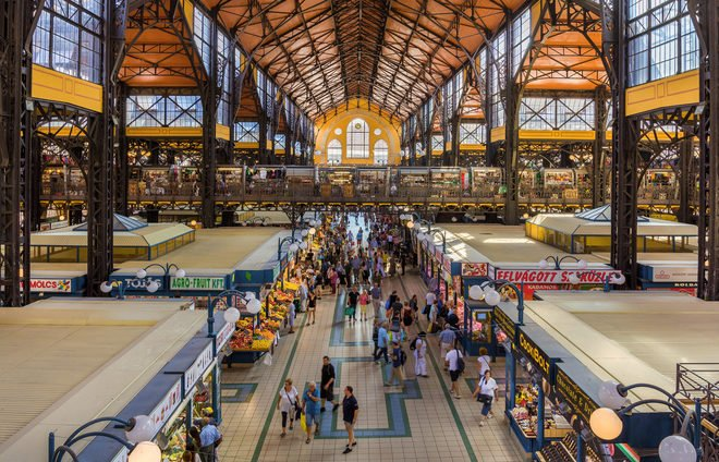 Discover Great Market Hall, Budapest's largest and most beautiful indoor market.