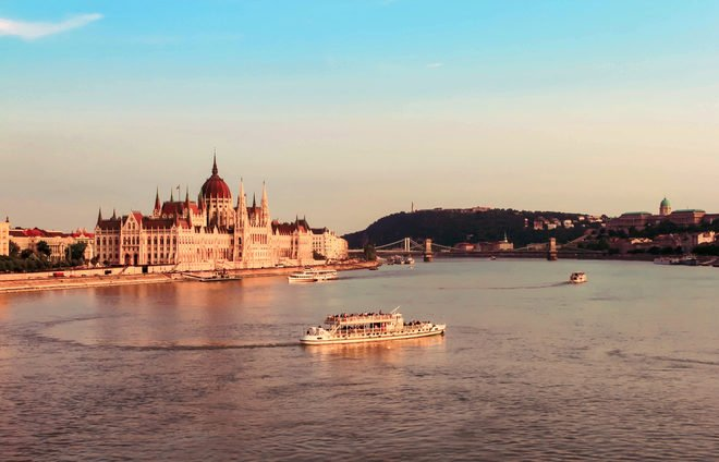 Experience a sunset cruise along the Danube.