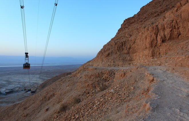 Climb via the Snake Path or take the cable car to the top of Masada with its extraordinary views and fascinating archaeological remains.