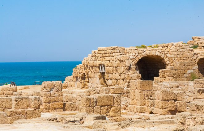 Take a guided snorkeling tour of the underwater archeological park in Caesarea. See the ruins of the magnificent harbor of Sebastos and sunken archeological artifacts amidst the Mediterranean marine life.