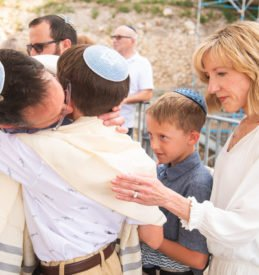 Father and son - Bar Mitzvah
