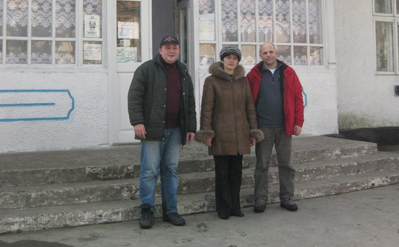 tmuna-Czernelica. Me in the village Czernelica, today the Ukraine (then Poland), where my maternal grandmother was born. On a visit in 2011.