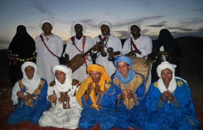Experience Morocco's rich musical tradition during a performance by an oud musician.