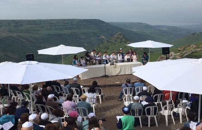 Bar Mitzvah ceremony in the North