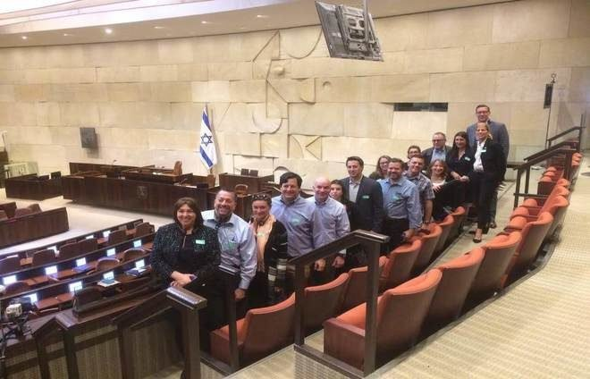 Group visit to the Knesset