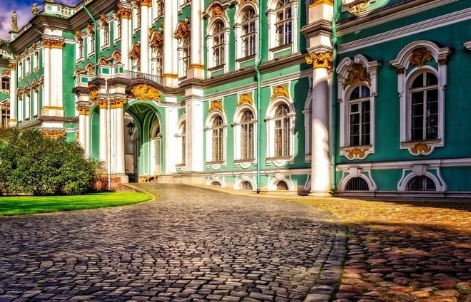 See the Hermitage Museum, one of the world's greatest and most famous art museums.