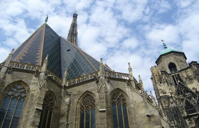 See St. Stephen's Cathedral, the main church of the Old Empire and symbol of Vienna.