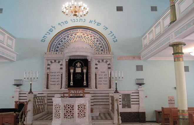 Visit Latvia's sole surviving synagogue, the Peitav Synagogue, which was built in 1905.