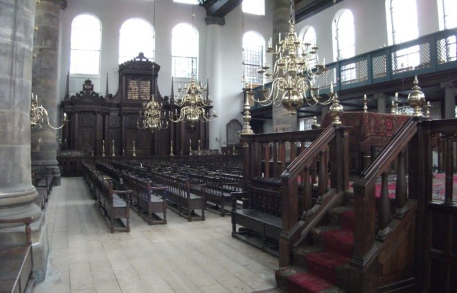 Tour the still-active Portuguese Synagogue, once one of the largest synagogues in Europe and a symbol of the glory of the Sephardi Jewish community in Holland.