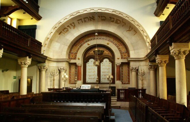 Welcome in the Sabbath at a local Lisbon synagogue, followed by Shabbat dinner with guests from the local Jewish community.