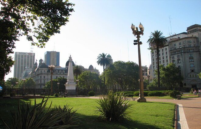 """Visit Plaza de Mayo, the """"Heart of the City,"""" where you will learn why most Argentine historical events happened right here on this very spot."""