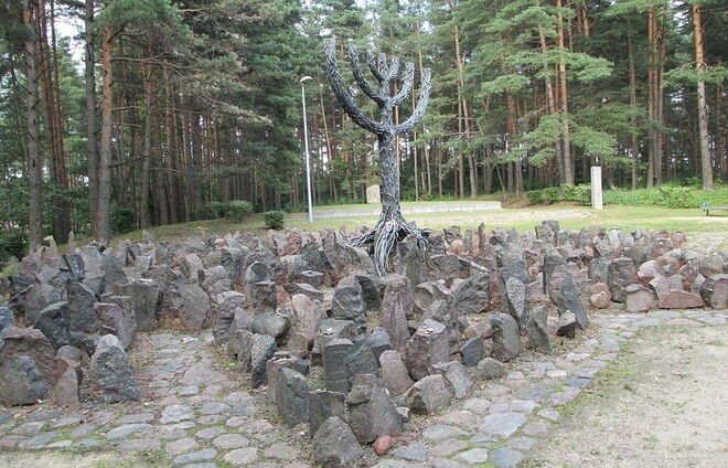 Pay respects at the Jewish Memorial at Rumbula, one of the largest holocaust sites in Europe, where about 25,000 Jews were killed in or on the way to Rumbula forest.