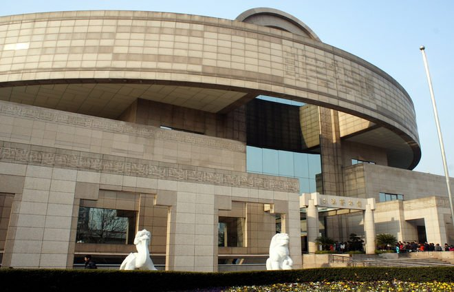 Visit the Shanghai Museum of ancient Chinese Art, situated on the People's Square.