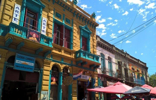 Explore La Boca, the old port neighborhood in Buenos Aires, where most immigrants arrived.