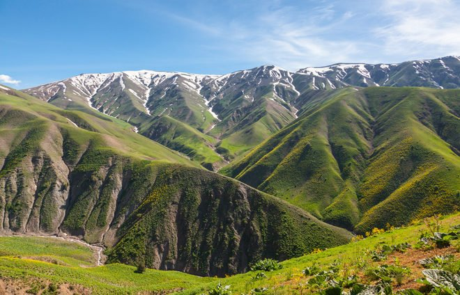 Drive to the Tian-Shan Mountains in the Chimgan region, utilizing this vantage point to take in the green scenery surrounding Tashkent.