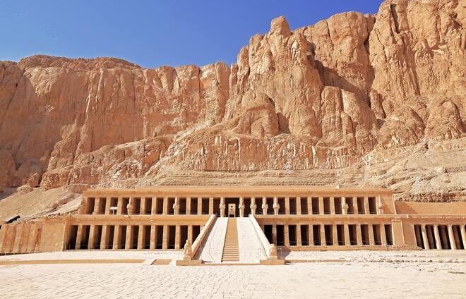 Explore the Valley of the Kings, an isolated valley where pharaohs were buried.