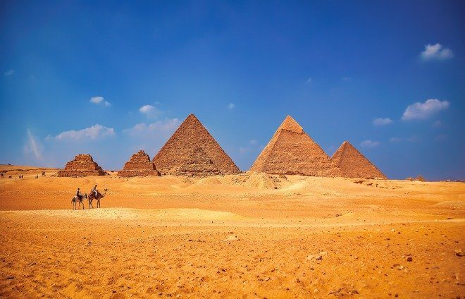 Experience the Great Pyramids of Giza, massive tombs that have inspired awe for almost 4,000 years. Discuss if there is any evidence to suggest they were indeed built by Hebrew slaves, and marvel at one of the great achievements of ancient Egypt.