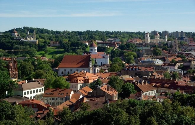 Enjoy an introductory tour of vibrant Vilnius, Lithuania's largest city and its capital.