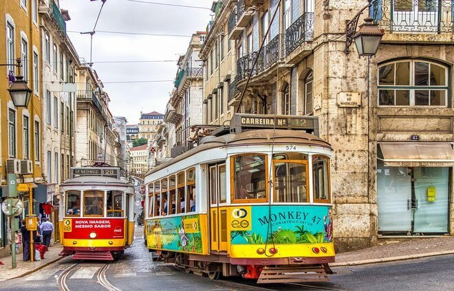 Spend a day in Portugal's colorful capital city of Lisbon.