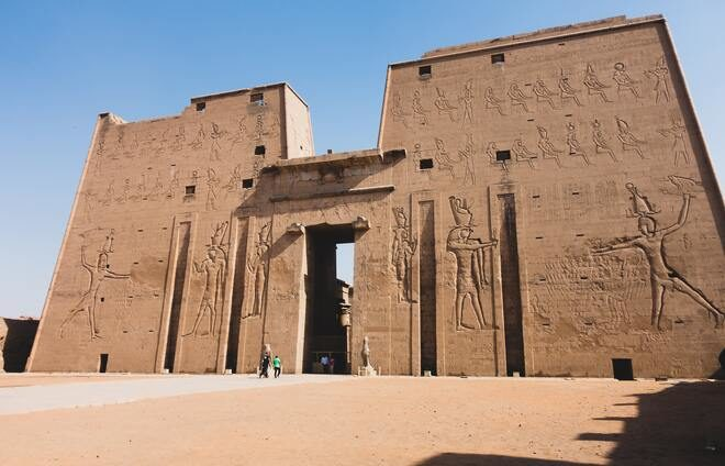 Visit the Temple of Edfu, an example of the enormous impact Greek rulers had on this land and their interaction with traditional Egyptian culture.