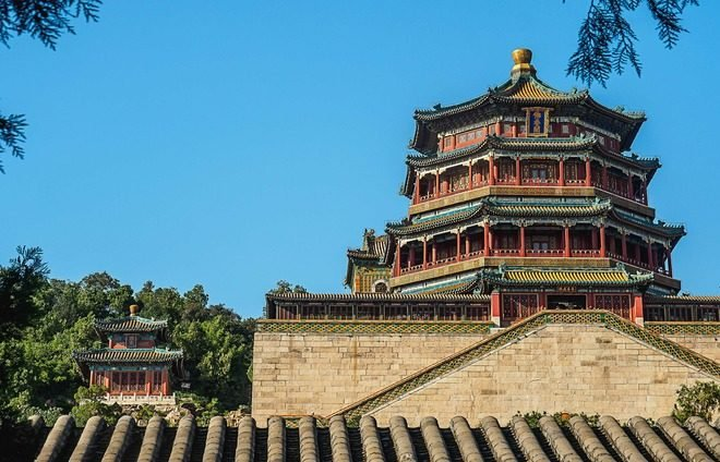 Visit Xi'an's Summer Palace, a UNESCO World Heritage site made up of a combination of hills, pavilions, halls, palaces, temples, and bridges.