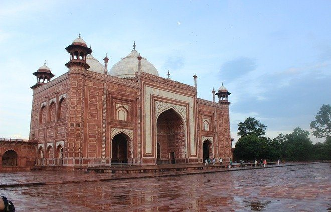Visit the Agra Fort built by Mughal emperors, as well as the Tomb of Itmad Ud Daulah.