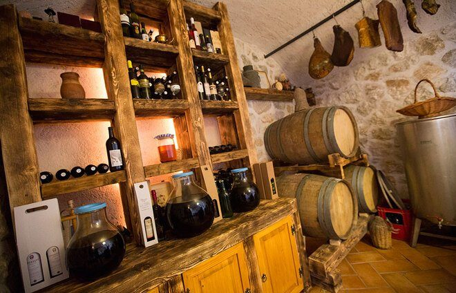 Visit SkyCellar, an underground grotto transformed into a gigantic wine cellar, and enjoy wine tasting of local wines.