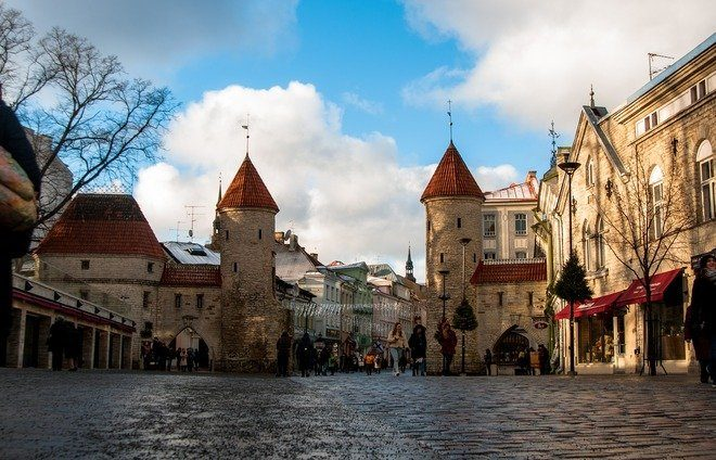 Enter Tallinn's marvelous old town through Viru Gate, which was part of the city's 14th-century extensive defense system.