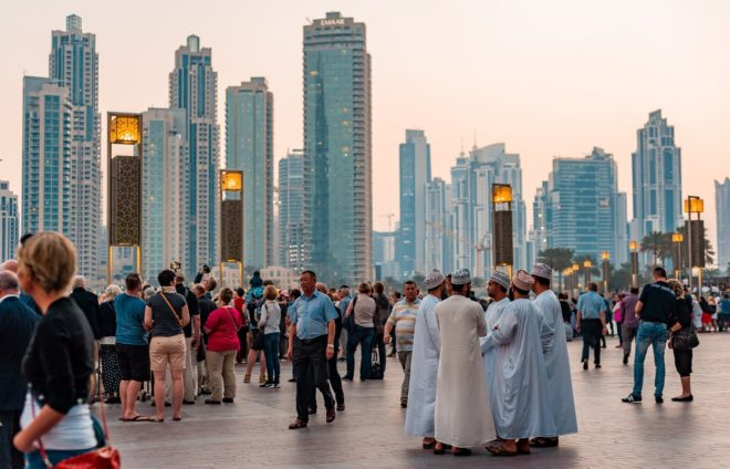 Participate in a tour of Dubai with a leading architect who will share some insights into the impressive architectural and social facets of the UAE's urban center.