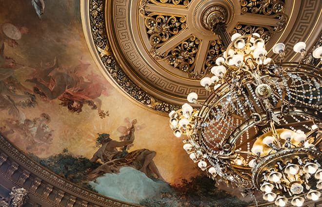 Enjoy an exclusive backstage visit to the Palais Garnier (the Paris Opera House) to one of the world's greatest opera houses and a masterpiece of 19th-century architecture.