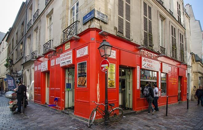 Join a guided tour of the Marais, the main old Jewish neighborhood, also called the Pletzel (and originally known as the Juiverie). The quarter dates back to the year 1198 when Jews were readmitted to Paris after the expulsion of 1182.